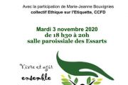 rencontre cycle Laudato'si 3.1 à 18h30 REPORTEE